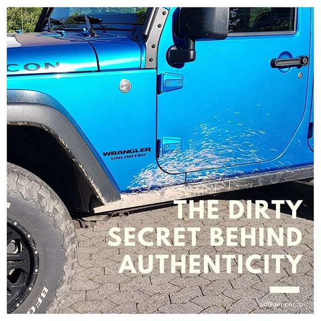 The Dirty Secret Behind Authenticity 🚜